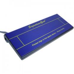 Topaz Systems - T-S261-HSB-R - Topaz SignatureGem T-S261 Electronic Signature Capture Pad - Active Pen - 4.80 x 1.20 Active Area - USB - 410 PPI