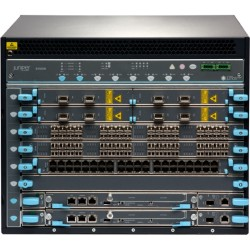 Juniper Networks - EX9208-BASE-AC - Juniper EX9208-BASE-AC Switch Chassis - Manageable - 8 x Expansion Slots - 8 x Expansion Slot - 3 Layer Supported - 8U High - Rack-mountable - 1 Year