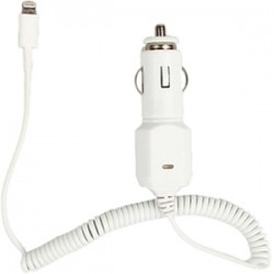 4xem - 4X8PINCARCHRG - 4XEM Car Charger For iPhone 5/5S, 6 and 6Plus - 5 V DC Output Voltage - 2.10 A Output Current