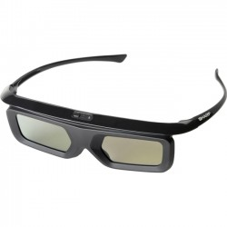 Sharp - AN-3DG40 - Sharp Active 3D Glasses - For Television - Shutter - Bluetooth - Black
