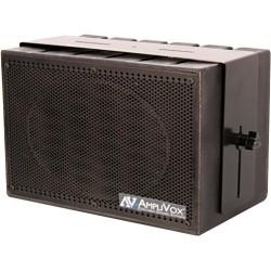 AmpliVox - S1230 - AmpliVox Mity Box S1230 50 W RMS Speaker - Black - 50 Hz to 20 kHz - 4 Ohm - Wall Mountable