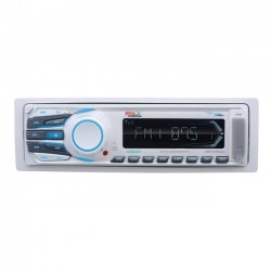 Boss Audio Systems - MR1306UA - BOSS AUDIO MR1306UA Marine Single-DIN MECH-LESS Multimedia Player (no CD or DVD), Receiver, Detachable Front Panel, Wireless Remote - Plays   MP3/USB/SD