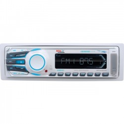 Boss Audio Systems - MR1308UAB - BOSS AUDIO MR1308UAB Marine Single-DIN MECH-LESS Multimedia Player (no CD or DVD), Receiver, Bluetooth, Detachable Front Panel, Wireless Remote - Plays   MP3/USB/SD