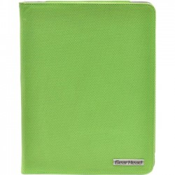 Gear Head - FS4200GRN - Gear Head Slim FS4200GRN Carrying Case (Portfolio) for iPad - MicroFiber Interior - Green Honeycomb