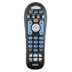Voxx - RCR313BR - RCA 3 Device Universal Remote Control - For TV, Cable Box, DVD Player, VCR, Satellite Box, Network Media Player