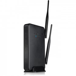 Amped Wireless - R10000 - Amped Wireless R10000 High Power Wireless-N 600mW Smart Router - High Power Wi-Fi Router, 10,000 sq ft WiFi coverage, 5 x 10/100 ports, 802.11n