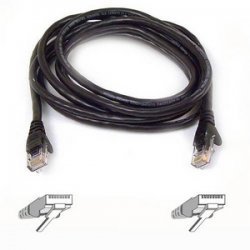Belkin / Linksys - A3L980-04-YLW-S - Belkin Cat6 Cable - RJ-45 Male - RJ-45 Male - 4ft - Yellow