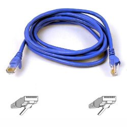 Belkin / Linksys - A3L980-06-BLU-S - Belkin Cat. 6 UTP Patch Cable - RJ-45 Male - RJ-45 Male - 6ft - Blue
