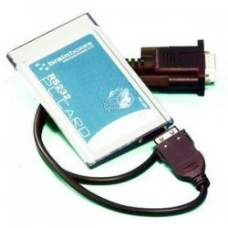 Brainboxes - PM-020-001 - Brainboxes 1 Port RS-232 Serial PCMCIA Card - 1 x 9-pin DB-9 Male RS-232 Serial