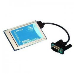 Brainboxes - PM-143-001 - Brainboxes 1 Port Serial PCMCIA Card (Ruggedised) - 1 x 9-pin DB-9 Male RS-232 Serial