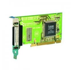 Brainboxes - UC-157-001 - Brainboxes 1 Port Universal LPT Parallel Adapter - 1 x 25-pin DB-25 Male IEEE 1284 Parallel