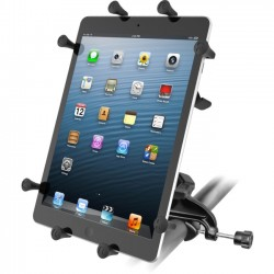 RAM Mounting Systems - RAM-B-121-UN9U - Yoke Clamp Mount with Universal X-Grip Cradle for 10 Large Tablets