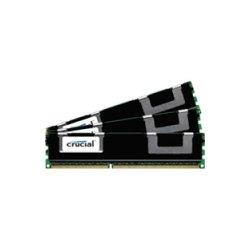 Crucial Technology - CT3K8G3ERVLD8160B - Crucial 24GB (3 x 8 GB) DDR3 SDRAM Memory Module - 24 GB (3 x 8 GB) - DDR3 SDRAM - 1600 MHz DDR3-1600/PC3-12800 - 1.35 V - ECC - Registered - 240-pin - DIMM