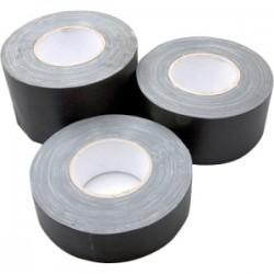 Hosa - GFT-459BK BULK - Hosa Technology Gaffer Tape - 4 Width x 60 yd Length - Residue-free, Easy Tear - Matte Black