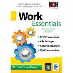 NCH Software - RET-WE001 - NCH Software Work Essentials - Document Management - PC, Mac