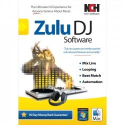 NCH Software - RET-ZDJ001 - NCH Software Zulu - Music Editing/Composing - English, Spanish - Mac, PC