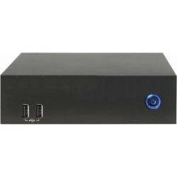 AOpen - 91.DE801.A020 - AOpen Digital Engine DE6100 Desktop Computer - AMD R-Series R-272F 2.70 GHz DDR3 SDRAM - Ultra Small - AMD Radeon HD 7520G Graphics - HDMI - 6 x Total USB Port(s)