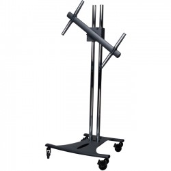 Premier Mounts - EBC72-RTM - Premier Mounts EBC72-RTM Mobile Cart - Up to 72 Screen Support - 200 lb Load Capacity - Flat Panel Display Type Supported - Floor Stand - Black
