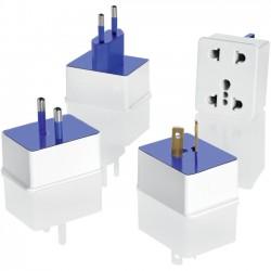 Conair - M601 - Conair Travel Smart Polarized Adapter Plug Sets - 110 V AC / 10 A, 220 V AC