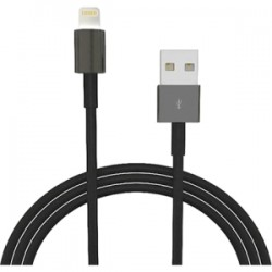 4xem - 4XLIGHTNINGBK - 4XEM 3Ft 1M Black charging data and sync Cable For Apple iphone 5 5s 6 6s 6plus 7 7plus - 4XEM 3Ft 1M Black charging data and sync Cable For Apple iphone 5 5s 6 6s 6plus 7 7plus