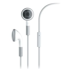 4xem - 4XEARPHONES - 4XEM Premium Earphones With Mic For iPhone /iPod /iPad - Stereo - White - Wired - 32 Ohm - Earbud - Binaural - Outer-ear