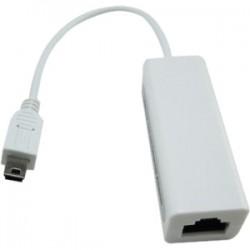 4xem - 4XMINIUSBENET - 4XEM Mini USB to 10/100Mbps Ethernet Adapter - USB - 1 Port(s) - 1 x Network (RJ-45) - Twisted Pair