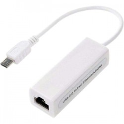 4xem - 4XMICROUSBENET - 4XEM Micro USB to 10/100Mbps Ethernet Adapter - USB - 1 Port(s) - 1 x Network (RJ-45) - Twisted Pair
