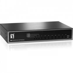 CP Tech / Level One - VOI-8001 - LevelOne VOI-8001 8-port FXS H323/SIP VoIP Gateway - Support SIP and H.323 Call, Register up to 4 SIP Proxy, QoS