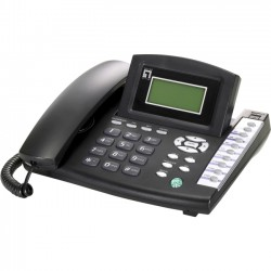 CP Tech / Level One - VOI-7100 - LevelOne VOI-7100 IP VoIP Telephone w/ PoE - Features VoIP and SIP, PoE, Register up to 3 Different Telephone Number
