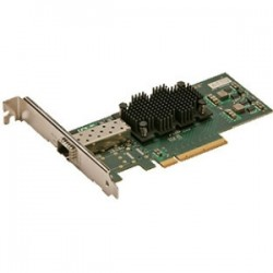 Atto Technology - FFRM-NS11-DA0 - ATTO Single Port 10GbE PCIe 2.0 Network Adapter - PCI Express x8 - Optical Fiber - Low-profile
