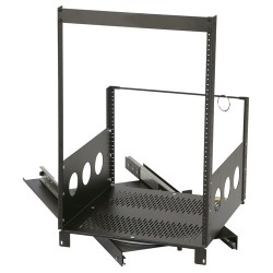 "Chief - ROTR-14 - Raxxess 14U Pull-Out and Rotating Rack - 19"" 14U Wide x 18.44"" Deep Wall Mountable, Rack-mountable - Black - Steel - 300 lb x Maximum Weight Capacity"