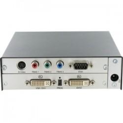 Black Box Network - ACS412A - Black Box VGA/DVI/Video/EGA/CGA to DVI-D Converter - Functions: Video Conversion - 1920 x 1200 - DVI - USB - External