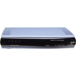 Hewlett Packard (HP) - JE368A - HP-IMSourcing DS VCX V7111 24 Channel VoIP Gateway - 1 x RJ-45 - 24 x FXS - Management Port - Fast Ethernet - 1U High - Rack-mountable, Desktop, Wall Mountable