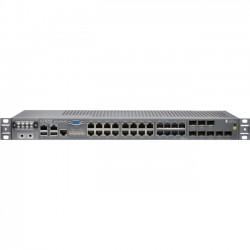 Juniper Networks - ACX2100-AC - Juniper ACX2100-AC Router - 24 Ports - Management Port - 8 Slots - Gigabit Ethernet - T-carrier/E-carrier - 1U - Rack-mountable