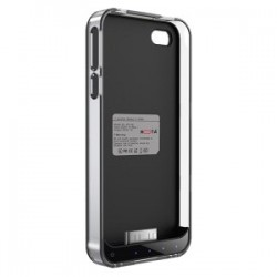 Mota / UNorth - AP4-15CK - TAMO Extended Battery Protective Case iPhone 4/4S - MFi - iPhone - Black, Clear