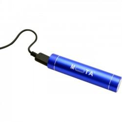 Mota / UNorth - PWA-BLUE - MOTA 2,600 mAh Battery Stick - Blue