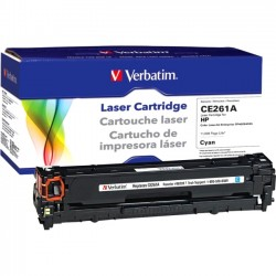 Verbatim / Smartdisk - 98339 - Verbatim Remanufactured Laser Toner Cartridge alternative for HP CE261A Cyan - Laser - 1 Pack