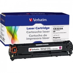 Verbatim / Smartdisk - 98333 - Verbatim Remanufactured Laser Toner Cartridge alternative for HP CE323A Magenta - Laser - 1300 Page - 1 Pack