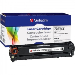 Verbatim / Smartdisk - 98336 - Verbatim Remanufactured Laser Toner Cartridge alternative for HP CE320A Black - Laser - 2000 Page - 1 Pack