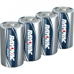 Rayovac - 813-8LTFUSJ - Rayovac(R) 813-8LTFUSJ FUSION Long-Lasting Alkaline Batteries (D, 8 pk)