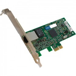 AddOn - 394791-B21-AOK - AddOn HP 394791-B21 Comparable 10/100/1000Mbs Single Open RJ-45 Port 100m PCIe x4 Network Interface Card - 100% compatible and guaranteed to work