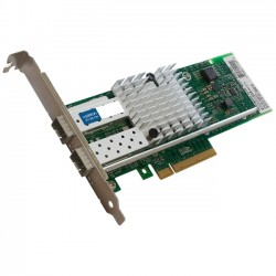 AddOn - 430-3815-AOK - AddOn Dell 430-3815 Comparable 10Gbs Dual Open SFP+ Port Network Interface Card with PXE boot - 100% compatible and guaranteed to work