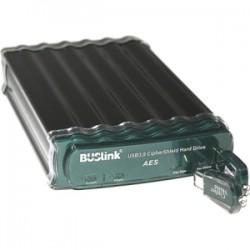 Buslink Media - CDSE-2T-SU3 - Buslink CipherShield CDSE-2T-SU3 2 TB External Hard Drive - SATA - USB 3.0, eSATA