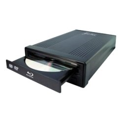 I/O Magic - D-IBD1PE2 - I/OMagic Blu-ray Writer - OEM Pack - BD-R/RE Support - USB 2.0 - Ultra Slim