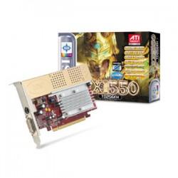 MSI - RX1550-TD256EH - MSI Radeon X1550 Graphics Card - ATi Radeon X1550 350MHz - 256MB GDDR2 SDRAM - Retail
