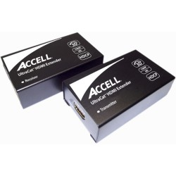 Accell - E090C-005B - Accell UltraCat Video Console/Extender - 1 Input Device - 1 Output Device - 164 ft RangeNetwork (RJ-45)HDMI InHDMI Out - Full HD - 1920 x 1080 - Category 6