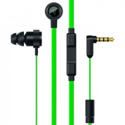 Razer - RZ04-01730100-R3U1 - Razer Hammerhead Pro V2 Earphone - Stereo - Mini-phone - Wired - 32 Ohm - 20 Hz - 20 kHz - Gold Plated - Earbud - Binaural - 55 dB SNR - In-ear - 4.27 ft Cable