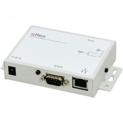 Silex - SD-300-US - Silex SD-300 Wired Serial Server - 1 x Network (RJ-45) - 1 x Serial Port - Fast Ethernet - Desktop