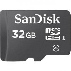 SanDisk - SDSDQB-032G-AW46 - SanDisk 32 GB microSDHC - Class 4 - 15 MB/s Write