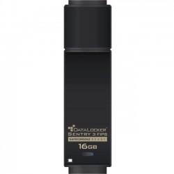 DataLocker - SENTRY16F - DataLocker Sentry 3 FIPS Encrypted Flash Drive - 16 GB - USB 3.0 - 256-bit AES